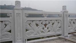 Lan can tường rào bằng đá trắng MT-LCD-XK05