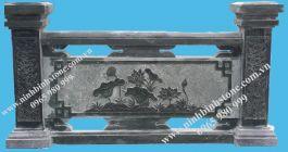 Lan can đá xanh rêu xuất khẩu MT-LCD-XK01