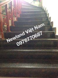Cầu thang làm từ đá Nâu Anh Quốc MT-DCT1218