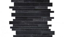 Đá Mosaic tự nhiên trang trí màu đen MT-DMS0001