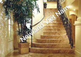 Đá cầu thang làm từ đá nâu phần lan ( Light Emperador ) MT-DCT0909