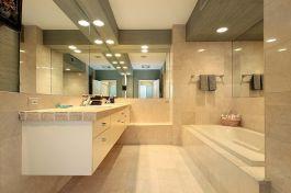 Đá Crema Marfil làm bàn bếp MT-DB014