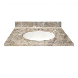 Đá Granite vàng Hoàng Gia ốp Lavabo, quầy Bar