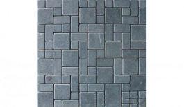 Đá Mosaic tự nhiên trang trí màu xanh đen MT-DMS0004
