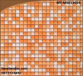 Gạch Mosaic Gốm trộn màu MT-MSG12014