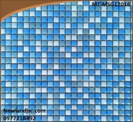 Gạch Mosaic Gốm trộn màu MT-MSG12016