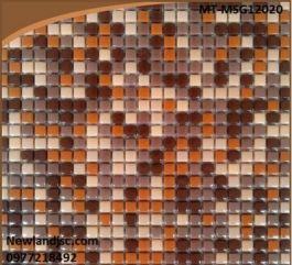 Gạch Mosaic Gốm trộn màu MT-MSG12020