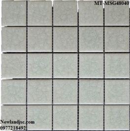 Gạch Mosaic Gốm đơn màu MT-MSG48040