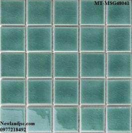 Gạch Mosaic Gốm đơn màu MT-MSG48041