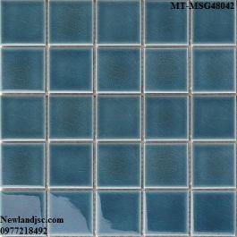 Gạch Mosaic Gốm đơn màu MT-MSG48042