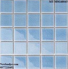 Gạch Mosaic Gốm đơn màu MT-MSG48043