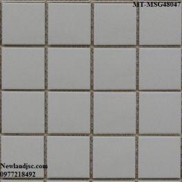 Gạch Mosaic Gốm đơn màu MT-MSG48047