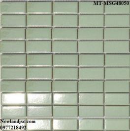 Gạch Mosaic Gốm đơn màu MT-MSG48050