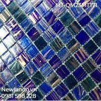 Gạch mosaic thủy tinh hòa trộn kích thước vỉ 30X30 Mã MT-QM23MT171