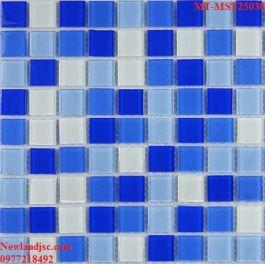 Gạch Mosaic Thủy Tinh trộn màu MT-MST25030