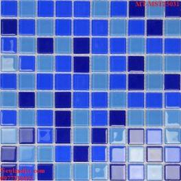 Gạch Mosaic Thủy Tinh trộn màu MT-MST25031
