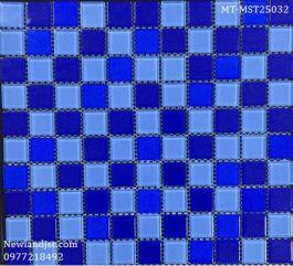 Gạch Mosaic Thủy Tinh trộn màu MT-MST25032