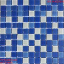 Gạch Mosaic Thủy Tinh trộn màu MT-MST25034