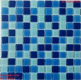 Gạch Mosaic Thủy Tinh trộn màu MT-MST25035