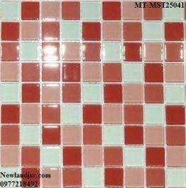 Gạch Mosaic Thủy Tinh trộn màu MT-MST25041
