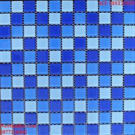 Gạch Mosaic Thủy Tinh trộn màu MT-MST25029