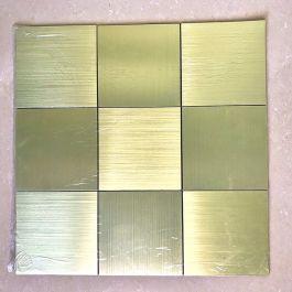 Gạch mosaic tự dính vuông to vàng MT-GM02106