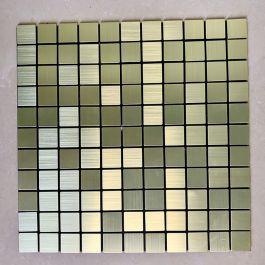 Gạch mosaic vuông vàng tự dính MT-GM02103