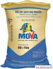 Vữa xây gạch không nung Mova Wall 900 Clair Mác 75#